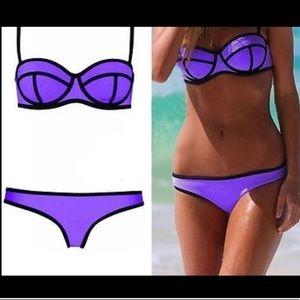 Triangl purple bikini